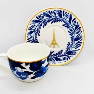 Marie Claire Paris teacup & saucer
